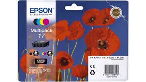 <b>Картридж Epson</b> T1706 <b>C13T17064A10</b> Multipack для XP 33 103 ...