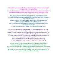british history iv complete essay plans   oxbridge notes the    british history iv complete essay plans