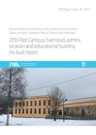 (PDF) ZEB Pilot Campus Evenstad: Administration and educational ...