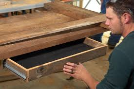 build homemade office desk how to build reclaimed wood desk build office desk woodworking