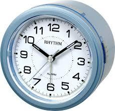 Настольные <b>часы будильник</b> RHYTHM CRE867NR04