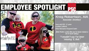 employee spotlight kreg robertson parkhill smith cooper