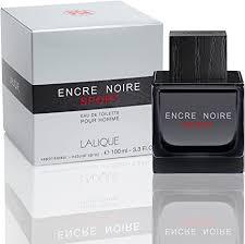 <b>Lalique Encre Noire Sport</b> for Men Eau De Toilette, 3.ounces ...