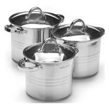 <b>Набор</b> посуды <b>MAYER & BOCH</b> нержавеющая сталь, 6 предметов