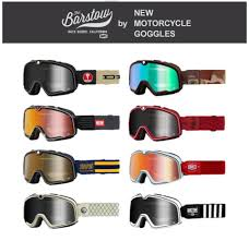 "<b>New</b> 100% <b>Vintage</b> Moto Cross Goggles from ""Barstow"" Series <b>2020</b> ..."