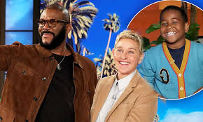 Tyler Perry surprises Ellen Show star Young Dylan with a TV show ...