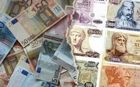 Αποτέλεσμα εικόνας για φωτο εικονες ευρώ και δραχμης