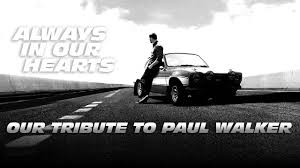Our Tribute To Paul Walker - See You Again (Wiz Khalifa ft. Charlie ...