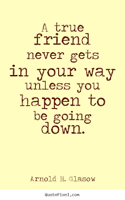 True Friendship Quotes. QuotesGram