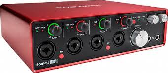 Купить <b>Аудио интерфейс Focusrite Scarlett 18i8</b> 2nd Gen с ...
