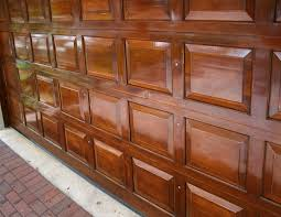 Image result for wood garage door