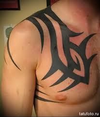 <b>Татуировки на груди</b> для мужчин - фотографии