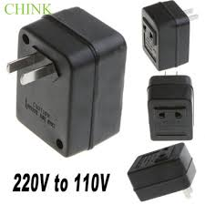 US <b>AC 220V To</b> 110V Voltage Converter 50W Travel Adapter ...