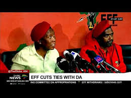 EFF cuts ties with DA