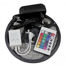 <b>ZDM</b>™ <b>5M</b> 300X3528 SMD RGB <b>LED</b> Strip Light and 24Key Remote ...