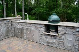 Countertop For Outdoor Kitchen Wwwsharpercutcom White Plains Md Outdoor Kitchen With