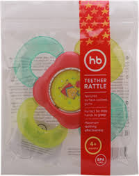 <b>Прорезыватель</b>-<b>погремушка HAPPY BABY</b> Teether rattle с водой ...