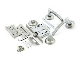 <b>Комплект для двери Фабрика</b> замков FZ SET 01-C 170 2H BK SN ...