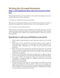 Writing the personal statement Writing the Personal Statement http   owl english purdue edu