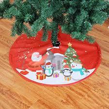 Samoii 35 Inch Non-Woven Christmas Tree Skirt Red ... - Amazon.com