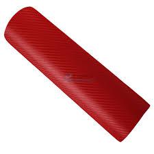 red 3d high quality diy 3d carbon fiber decal vinyl film wrap roll adhesive interior carbon fiber tape furniture