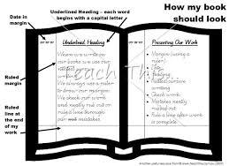 How my book should look   Printable Teacher Resources and     How my book should look