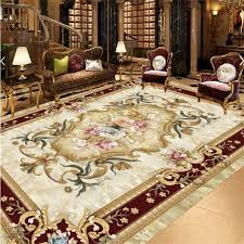 beibehang <b>Custom floor painting 3d</b> living room bedroom hotel ...
