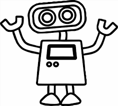 Small Picture Robots Robot Coloring Pages Coloring Pages Free Printable Robot