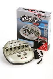 <b>Ansmann</b> ENERGY 16 (PLUS), <b>Устройство зарядное</b> для 1-12 АА ...