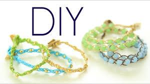 DIY <b>Boho</b> ArmCandy Wrap Bracelets {Easy} How to Make - YouTube