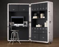 innovative hidden home office computer desk space design furniture space saving furniture boston baumhaus hampton hidden home office desk