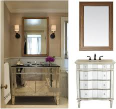 modern espresso wooden corner bathroom cabinet with marble counter chrome drawers black glass top combined wall lamps and frame mirror unique black glass top corner
