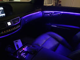 anyone ever changed their ambient lighting on their 221 ambient lightingjpg car mood lighting