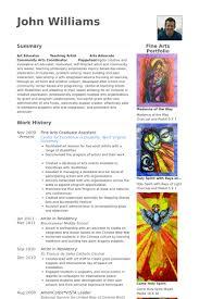 graduate assistant resume samples   visualcv resume samples databasefine arts graduate assistant resume samples
