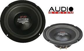 <b>Audio System Ax 08</b> Fl Evo 200 mm Special Allround Speaker 1 Pair ...