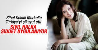 Sibel Kekilli'den Merkel'e Türkiye mektubu