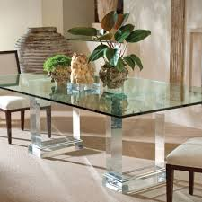 dining room table mirror top: dining room living room interior kitchen acrylic clear glass rectangular dining table stainless steel mirrored base