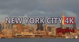 UHD Ultra HD 4K Video Stock Footage New York City Skyline Travel ...