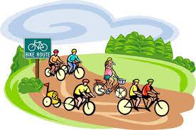 Image result for family bike riding clip art