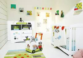 decoration modern baby room with design white wall white floor and be equipped white cabinet white baby nursery cool bedroom