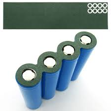 <b>100Pcs</b>/<b>Lot 18650 Battery</b> Anode Hollow Insulation Pad Pointed ...