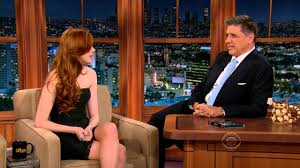 Karen <b>Gillan on</b> the Late Late Show 2012-11-28 - YouTube