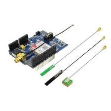 <b>Elecrow</b> SIM808 <b>GPRS</b>/<b>GSM GPS</b>/Bluetooth Shield - RobotShop
