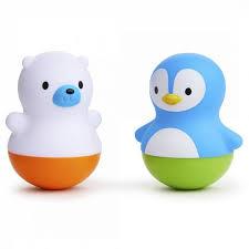 Munchkin <b>Игрушки для ванны поплавки</b> Медведь и Пингвин ...