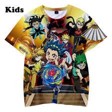 3D <b>Beyblade</b> Burst Evolution t shirt boys girls T shirts print <b>Beyblade</b> ...