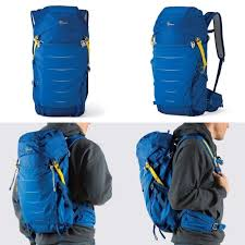 <b>Lowepro</b> LP36891-PWW <b>Photo Sport</b> Backpack for Camera - Blue ...