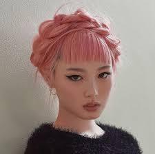 Мои закладки | Люди / people | Радужные волосы, Цветные ...