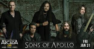 <b>Sons of Apollo</b> LIVE at the Arcada Theatre in St Charles