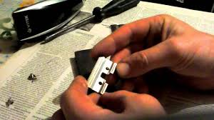Как навести ножи, МАШИНКА ДЛЯ СТРИЖКИ - YouTube