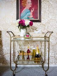 bar cart 10 easy ways to add a mid century modern style to your home add midcentury modern style